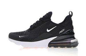 Nike Air Max 270 черные с белым (35-44)