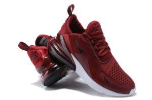 Nike Air Max 270 бордовые (35-44)