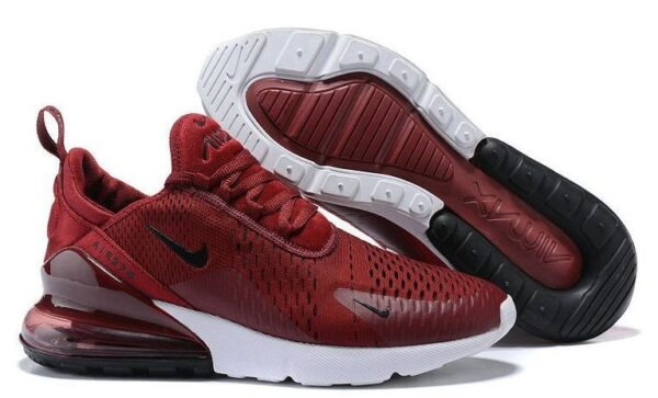 Nike Air Max 270 бордовые (35-44)