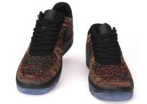 Nike Air Force 1 Low Flyknit черные (41-44)