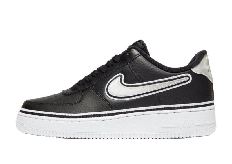 Nike Air Force 1 '07 LV8 Sport NBA черно-белые (40-44)