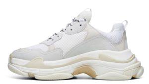 Balenciaga Triple S white белые женские мужские (35-44)