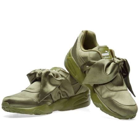 Puma x Rihanna Fenty Bow зеленые (35-40)