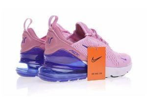 Nike Air Max 270 розовые с голубым (35-39)