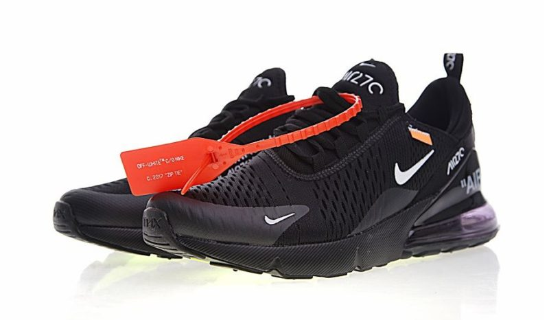 Nike Air Max 270 Off White x черные (40-44)
