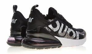 Nike Air Max 270 Supreme x черно-белые (35-44)