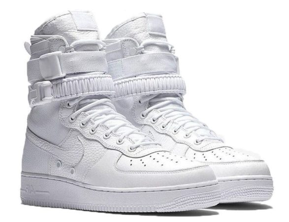 Nike Air Force 1 SF white белые (40-44)