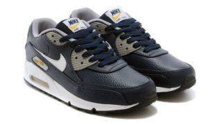 Nike Air Max 90 LTR синие с черным (40-44)