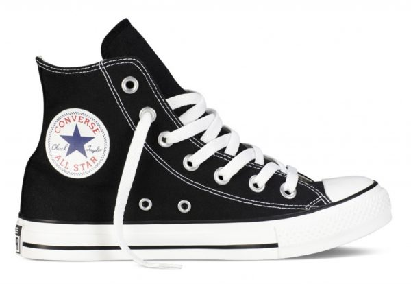 Converse All Star высокие чёрно-белые black white (35-45). Конверс Ол Стар