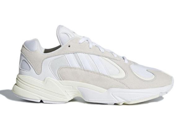 Кроссовки Аdidas Originals Yung-1 белые (35-39)