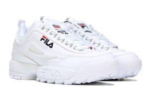 Fila Disruptor white белые (35-44)