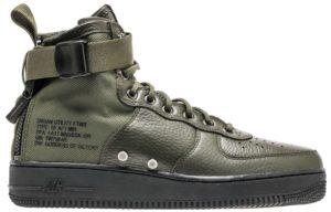 Кроссовки Nike Air Force 1 SF Mid green зеленые (40-45)