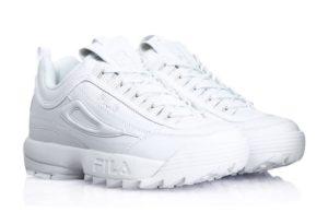 Fila Disruptor 2 All white белые (35-44)