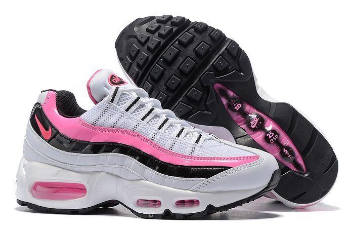 Nike Air Max 95 Essential белые розовые Pink (35-40)