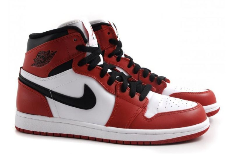 Nike Air Jordan 1 Retro Red красные 40-44