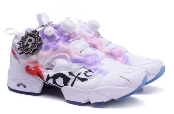 Reebok insta Pump XOX White белые (35-39)