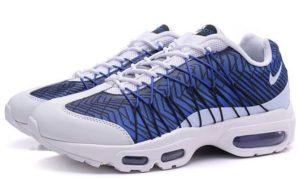 Nike Air Max 95 Ultra Jacquard Royal белые с синим (41-45)