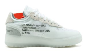Nike Air Force 1 OFF-WHITE x white белые (40-45)