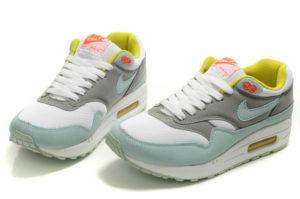 Nike Air Max 87 серо-голубые (35-40)