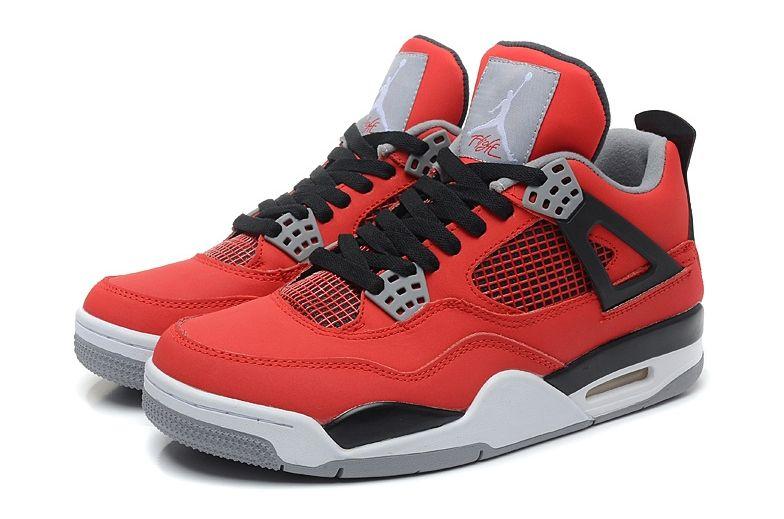Nike Air Jordan 4 Retro Red красные 35-45