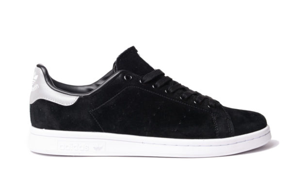 Adidas Stan Smith черные замша (40-45)