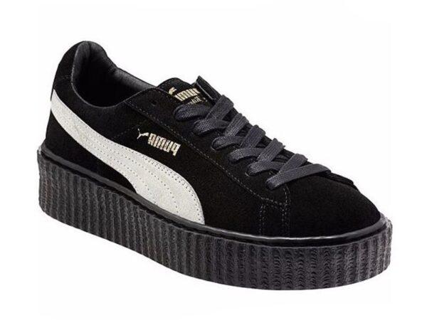 Puma Rihanna Creepers черные с белым (35-40)