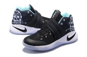 Nike Kyrie 2 Black White Green черно-белые (40-45)