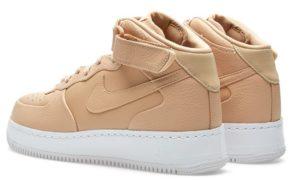 Nike Air Force 1 Lab Mid бежевые (35-44)