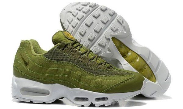 Nike Air Max 95 x Stussy зелено-белые (40-45)