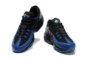 Nike Air Max 95 синие с черным (41-45)