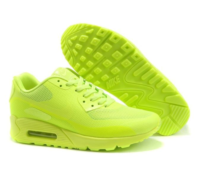 Nike Air Max 90 Hyperfuse салатовые (35-45)