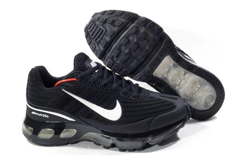 71009fbb Nike Air Max 360 черные Black (36-44) — купить в Челябинске. Дисконт ...