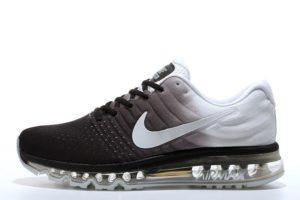 Nike Air Max 2017 черно-белые (40-44)