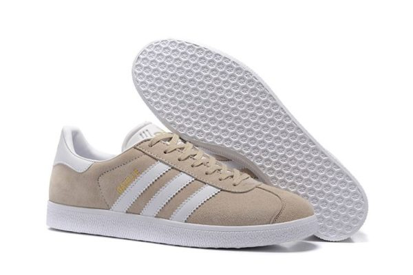Adidas Gazelle бежевые женские