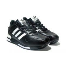 Adidas zx 700 leather black мужские (40-46)