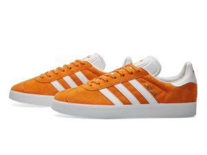 Adidas Gazelle оранжевые