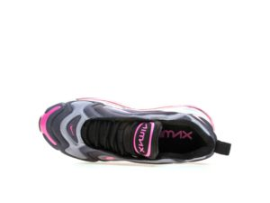 Nike Air Max 720 черные с розовым (35-39)