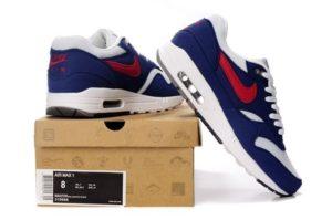 Nike Air Max 87 бело-синие (40-45)