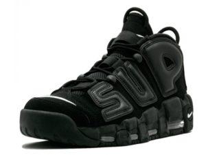Nike Supreme x Air More Uptempo (Black)