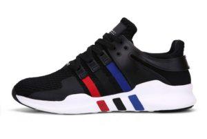 """Adidas EQT Support """"ADV"""" черные с синим и красным (35-44)"""