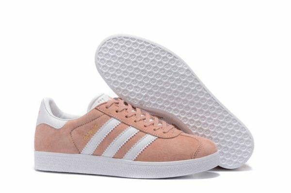 Adidas Gazelle розовые с белым (35-39)