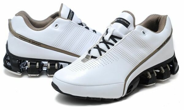 Adidas Porsche Design Sport leather P'5000 белые с коричневым (39-44)
