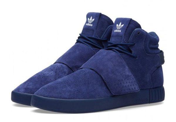 Adidas Tubular Invader Strap темно-синие (40-44)