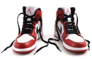 Nike Air Jordan 1 Retro красно-белые (40-44)