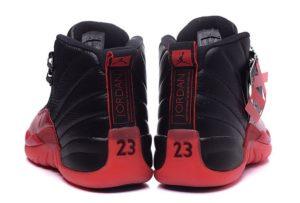 Nike Air Jordan 12 Retro черные с красным (40-45)