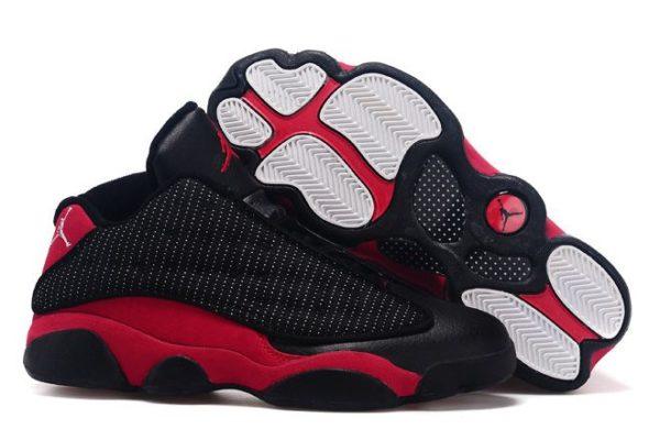 Air Jordan 13 Retro черные с красным (40-45)