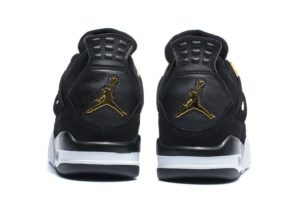 Air Jordan 4 Retro черные с белым (40-45)