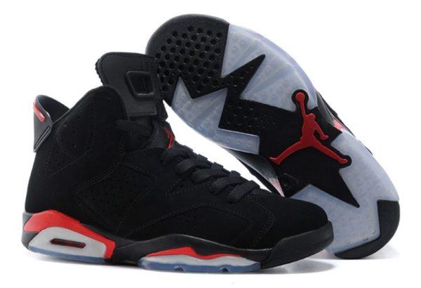 Nike Air Jordan 6 Retro черные (40-44)