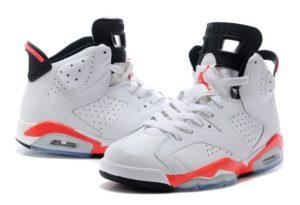 Air Jordan 6 Retro белые (35-45)