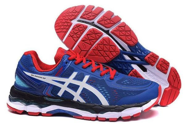 Asics Gel Kayano 22 (Blue/Red) синие (40-44)